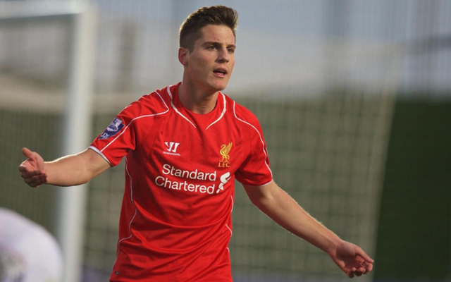 Liverpool's Academy XI next season, with three new signings completing impressive line-up