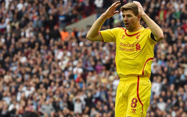 Steven Gerrard admits he's leaving Liverpool early