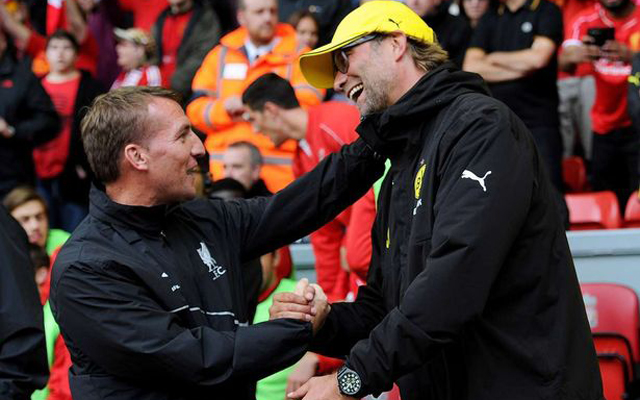 Rodgers would be gutted if Klopp missed out on title, as he did