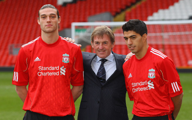 What Andy Carroll did in the helicopter before signing for Liverpool in 2011