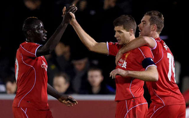 Liverpool's ten most accurate passers this season: Mamadou Sakho second, Jordan Henderson misses out