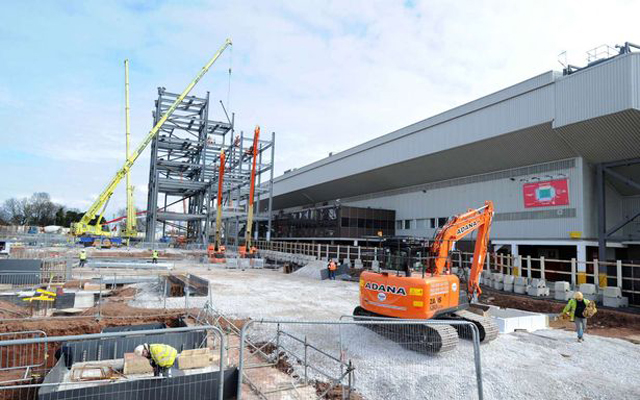 Anfield capacity to be reduced next season as redevelopment work continues
