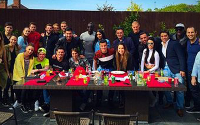 (Images) Philippe Coutinho throws impressive end-of-season party for Liverpool teammates