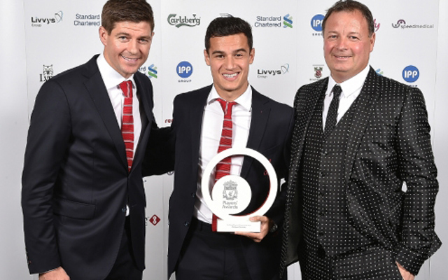 Liverpool's end of season awards – results in full; four for Philippe Coutinho