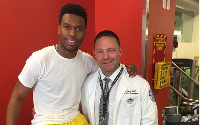 Daniel Sturridge upbeat on injury; labels surgeon a 'genius' on Instagram