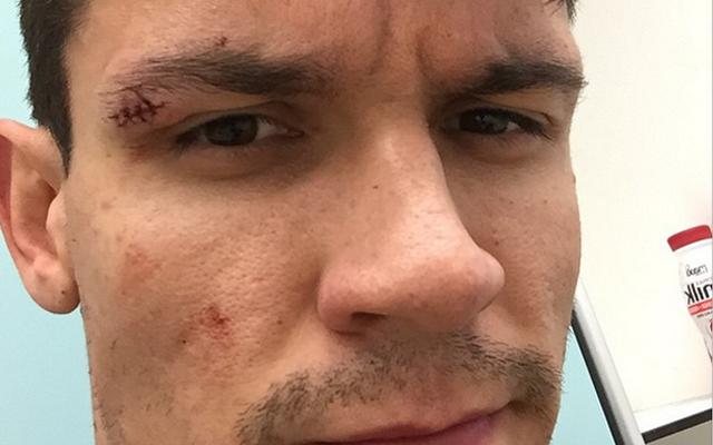 (Image) Dejan Lovren bemoans mystery Liverpool teammate after training ground injury