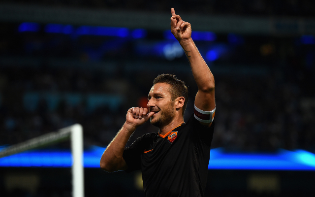 Francesco Totti pens superb Steven Gerrard tribute