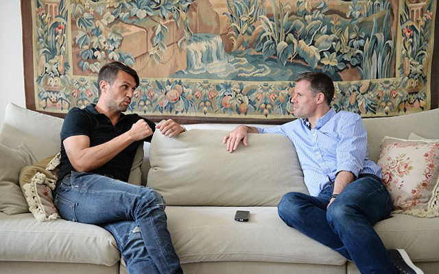 Jamie Carragher and Paolo Maldini brilliantly discuss Istanbul ten years on