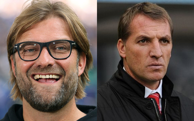 Should this eery Rodgers/Klopp stat worry Liverpool fans?