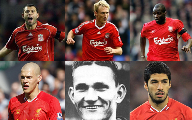 Around the world in 22 Liverpool players – picking the best of the best from Argentina to Zimbabwe