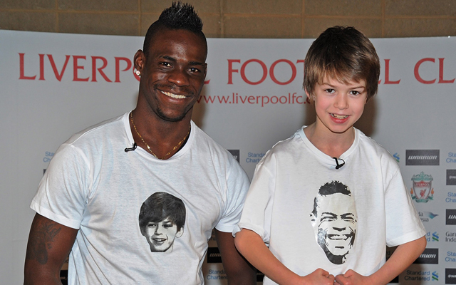 (Video) Mario Balotelli gets grilled on hair, celebrations and songs by young supporter