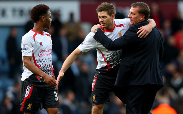 Gerrard tells Sterling why he should stay at Liverpool