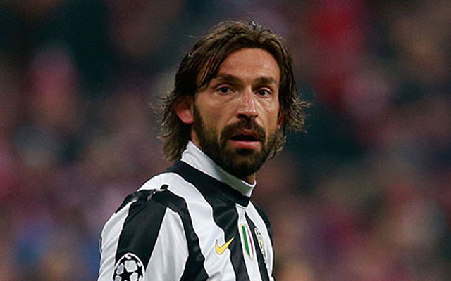 Rumoured Liverpool target Andrea Pirlo poised for MLS move