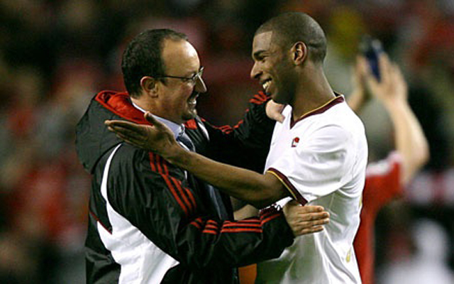 Ryan Babel slams Rafa Benitez on Twitter with weird jibe