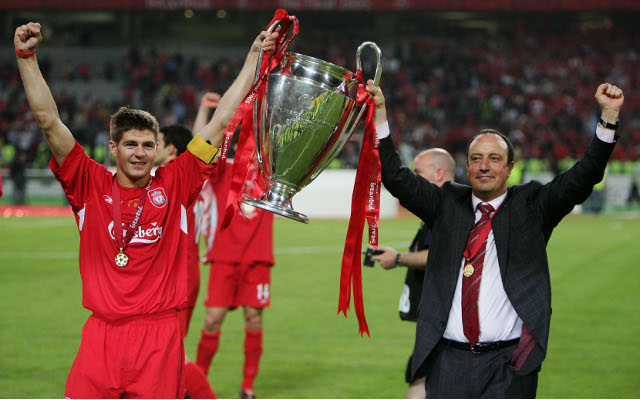 Rafa Benitez reflects on Champions League win ten years on
