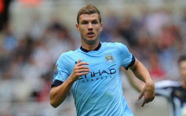 Manchester City willing to offer Edin Dzeko as part of Raheem Sterling deal