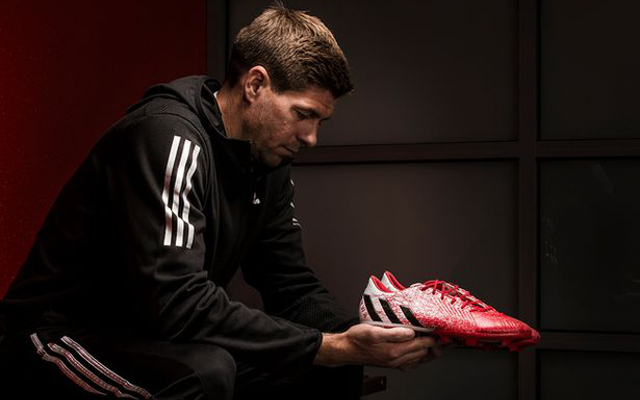 (Image) Steven Gerrard's special boots for final game at Anfield