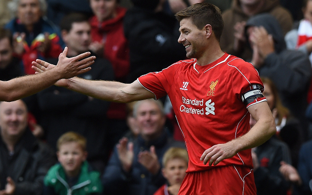 Steven Gerrard will be given guard of honour in final Anfield appearance