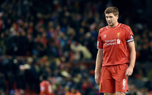 Steven Gerrard hoping that he will not be needed for Liverpool encore
