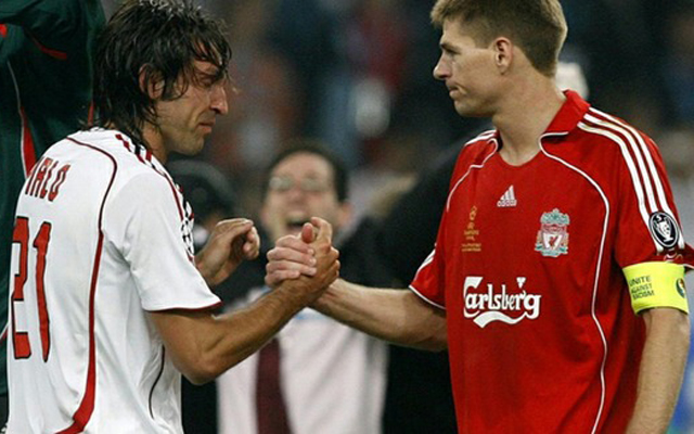 Andrea Pirlo reveals that Steven Gerrard could have been his AC Milan teammate