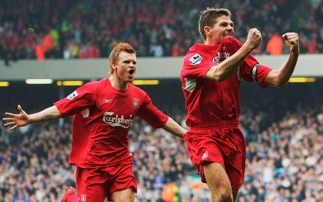Steven Gerrard tops list of 50 greatest Manchester United & Liverpool players