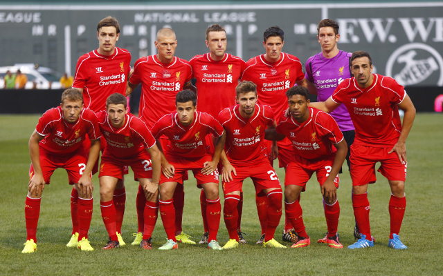 Ranking Liverpool's entire squad for the 2014-15 season from 25-1- Markovic 17th, Henderson 4th