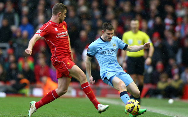 Liverpool close to completing deal to sign James Milner, claims report