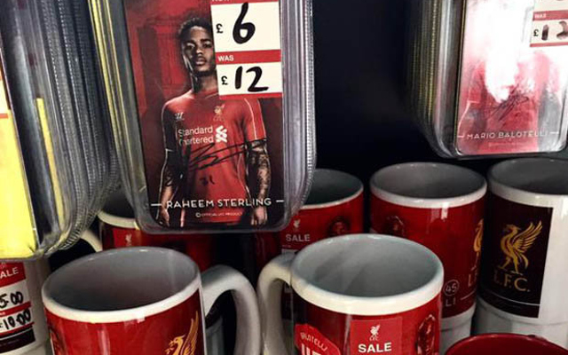 Liverpool hint at duo's departure with cut-price merchandise
