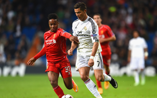 Comparing Raheem Sterling with Lionel Messi and Cristiano Ronaldo at the same age