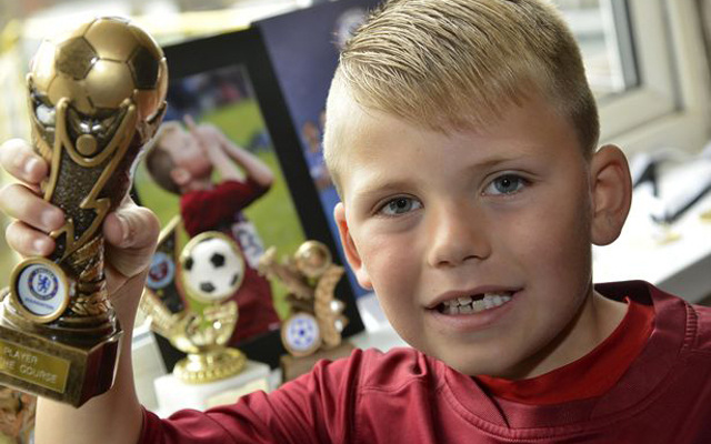 Seven-year-old named after Steven Gerrard scores 113 goals in one season and now wants to join Liverpool