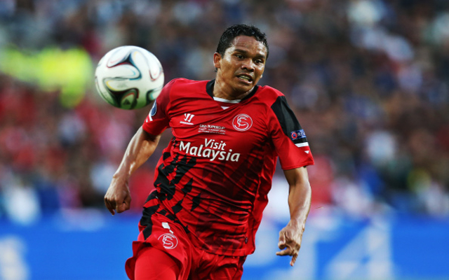 Liverpool target Carlos Bacca agrees personal terms with AC Milan, claims report