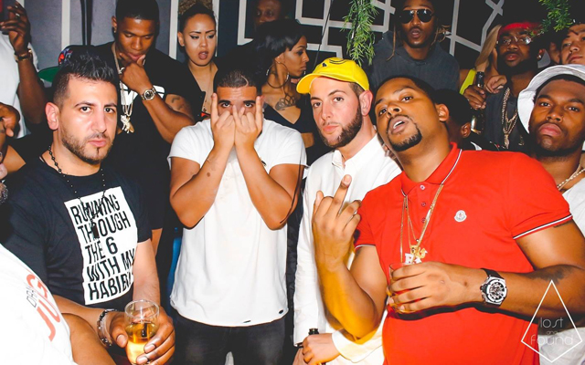 (Image) Daniel Sturridge parties with rapper Drake in Canada