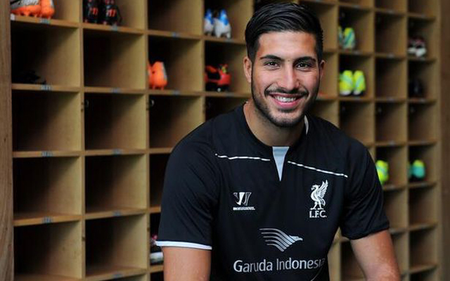 Emre Can is learning to speak Scouse, not English!