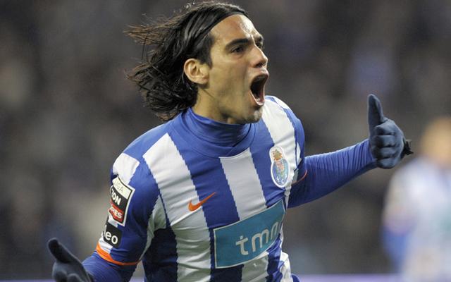 FC Porto's Colombian forward Radamel Fal