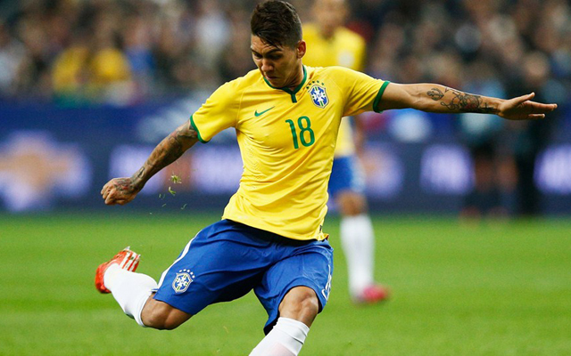 Reports in Brazil claim Liverpool have shown 'strong interest' in Roberto Firmino