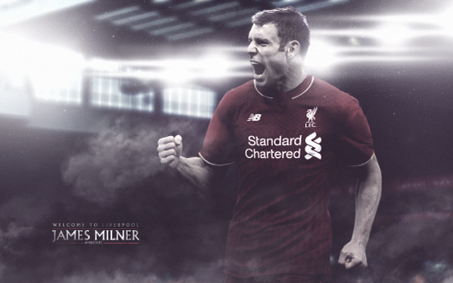 [Images] Milner poses with new shirt number – explains why he chose Liverpool over Arsenal