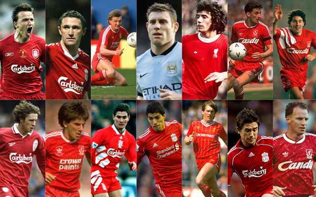 Rating the 14 players to wear Liverpool's iconic no.7 shirt: from Kevin Keegan to James Milner