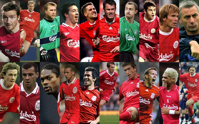 Meet The Legends Liverpool Name 19 Man Squad For Sunday S