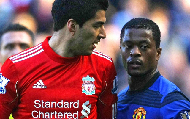 """Massive mistake"" – Carragher apologises to Evra for LFC's Suarez shirts"