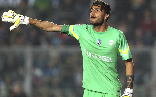 Italian goalkeeper links himself with Liverpool, then says he's going nowhere