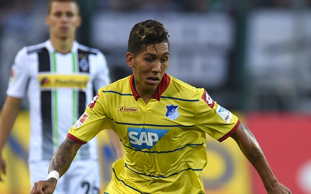 Liverpool agree deal to sign Roberto Firmino, Sky Sports confirms
