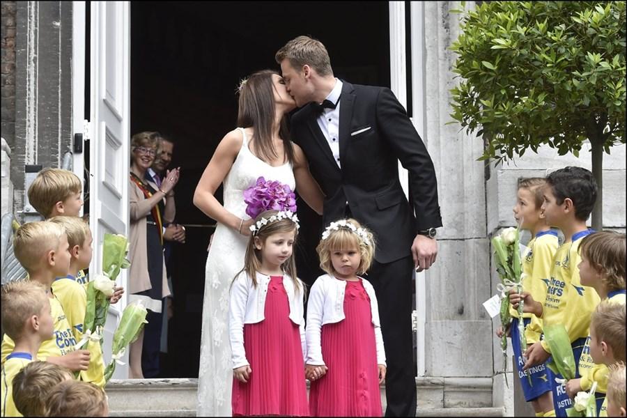 Simon Mignolet wedding 2