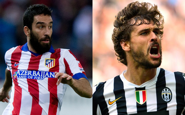 Rumoured Liverpool targets Fernando Llorente and Arda Turan eyeing Premier League moves
