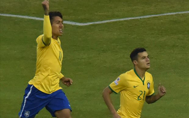 Coutinho admits convincing Roberto Firmino to sign for Liverpool