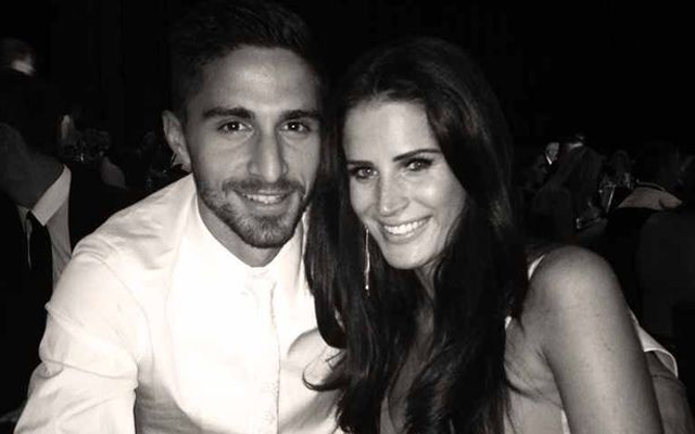 Congrats to Fabio Borini who got married today