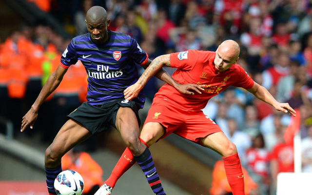 Abou Diaby turned Liverpool down for Marseille, dubiously claim L'Equipe
