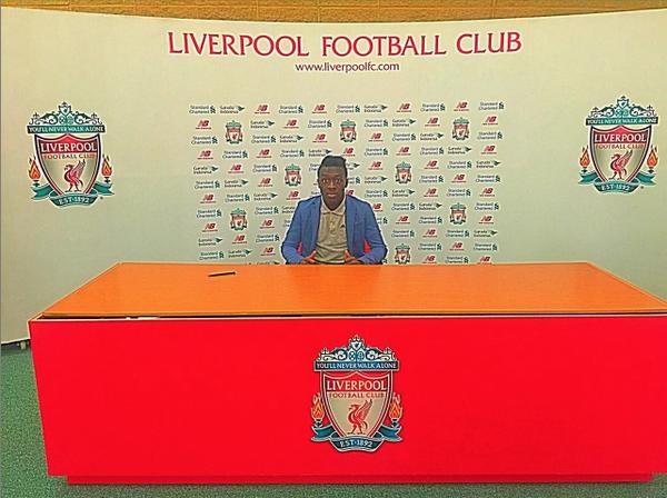 DONE DEAL: Liverpool sign Barcelona wonderkid Bobby Adekanye