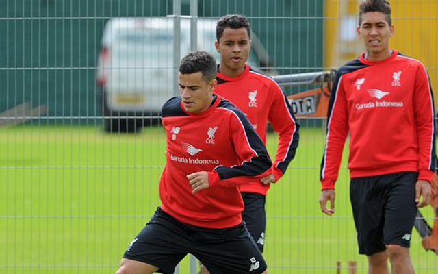 (Video) Coutinho proves genius on return to Melwood; beating Karius with trick finish