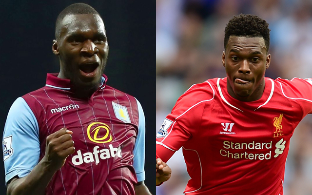 Fitting Daniel Sturridge back into Liverpool's XI in two 'Rodgers' formations', with striker 'four games away'