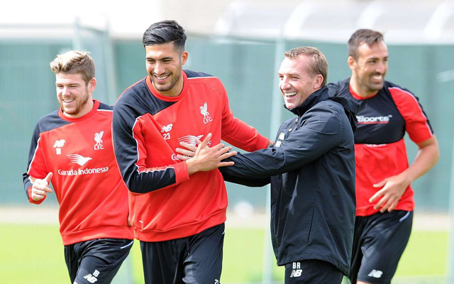 Emre Can asks Brendan Rodgers to play him in central midfield